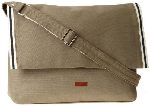 Ben Sherman Men's Tour Canvas Messenge Bag