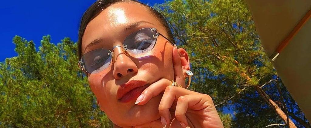 Bella Hadid Ruffle Bikini August 2018