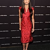 Demi Moore out to support Margin Call in NYC.