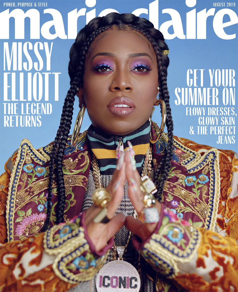 Missy Elliott Marie Claire August 2019 Cover