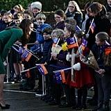 Kate Middleton Visits Children's Hospice Norfolk Jan. 2017