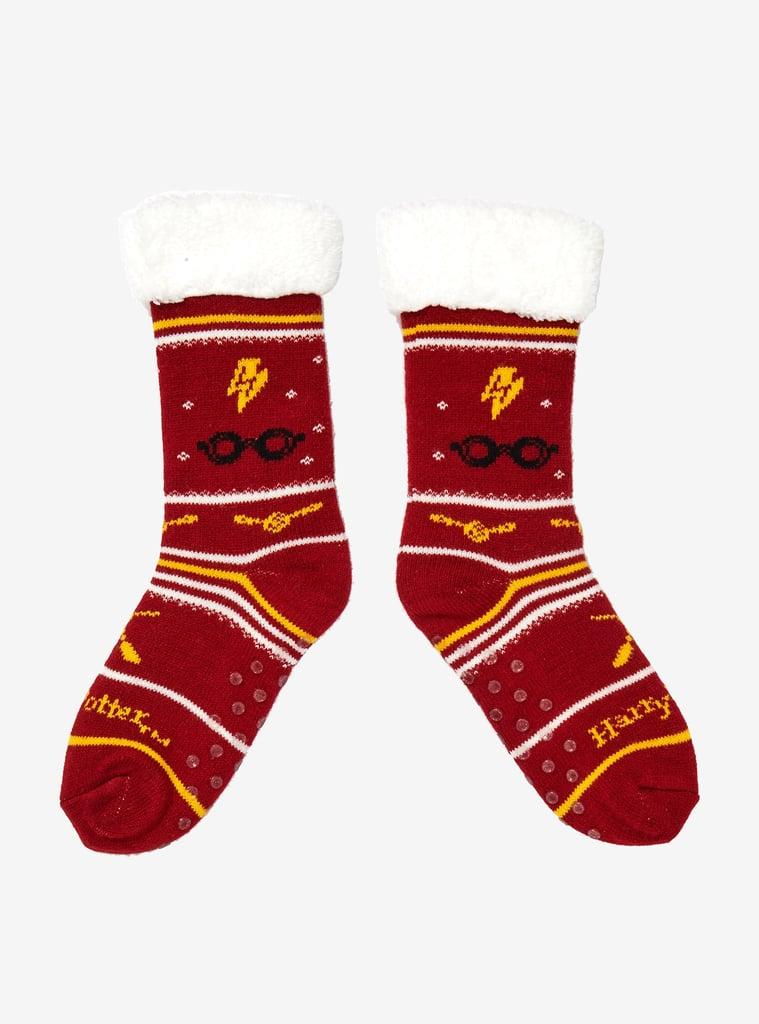 Harry Potter Cozy Slipper Socks