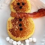 Snowman Pancakes