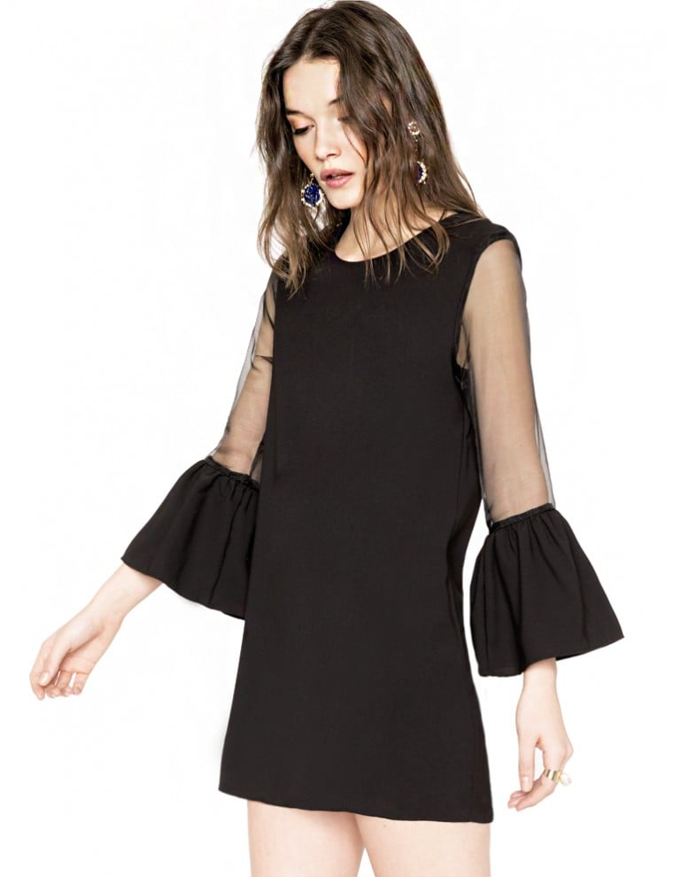 Pixie Market Bell Sleeve Dress