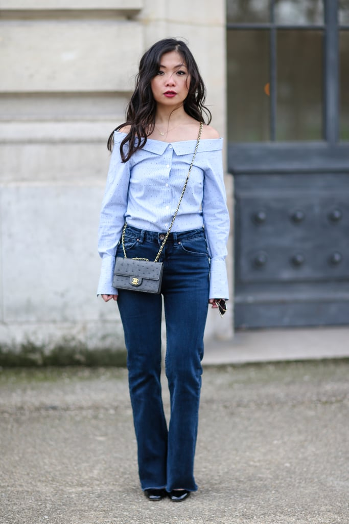 The 1 Thing You Need to Nail the Off-the-Shoulder Trend Is Already in Your Wardrobe