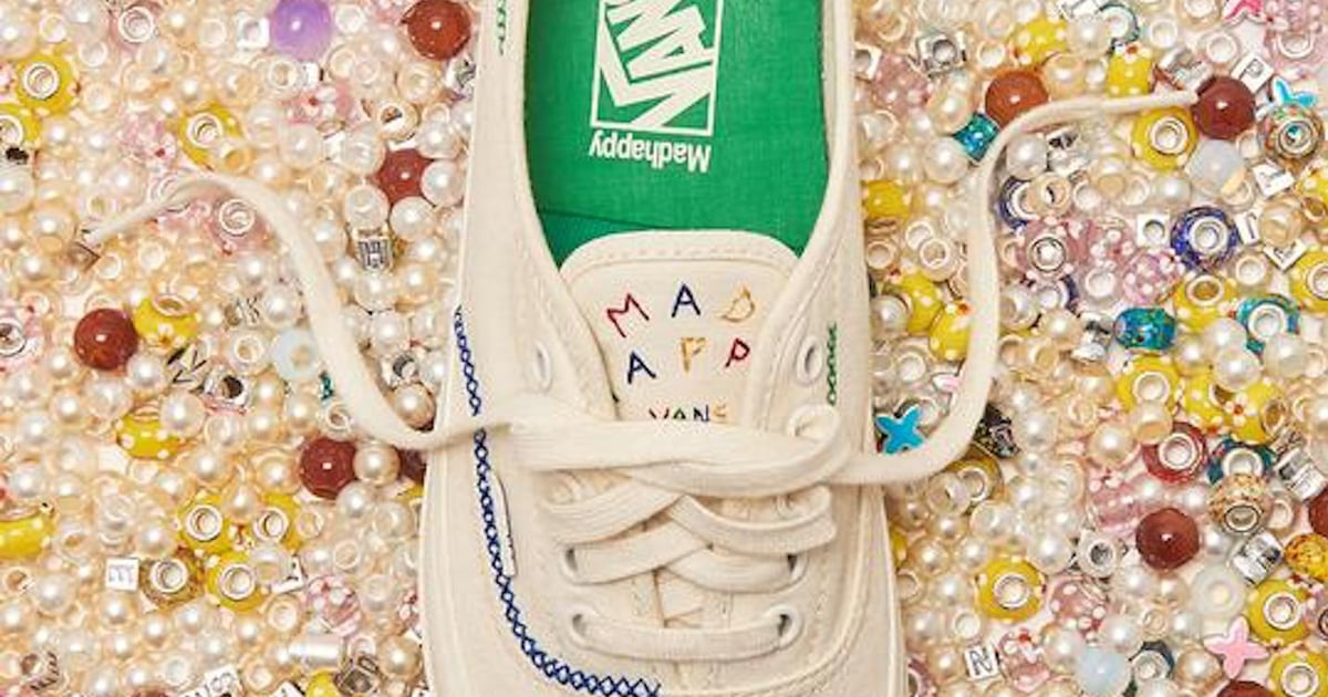Madhappy and Vans Created a Sneaker Inspired by Beaded Friendship Bracelets