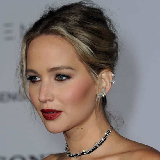Jennifer Lawrence Perfect Face Features