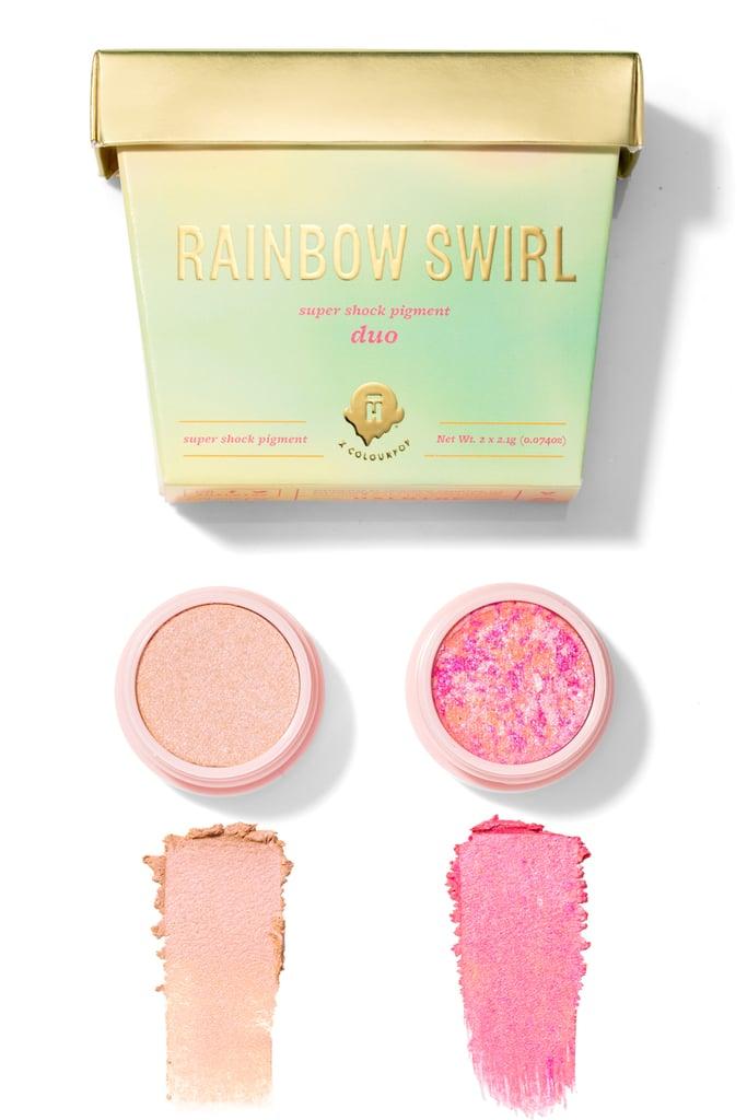 Halo Top x ColourPop Rainbow Swirl Super Shock Pigment Duo