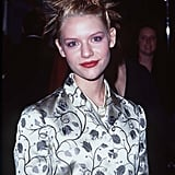 How incredibly '90s (and punk!) was Claire's look at the LA premiere of Romeo + Juliet?