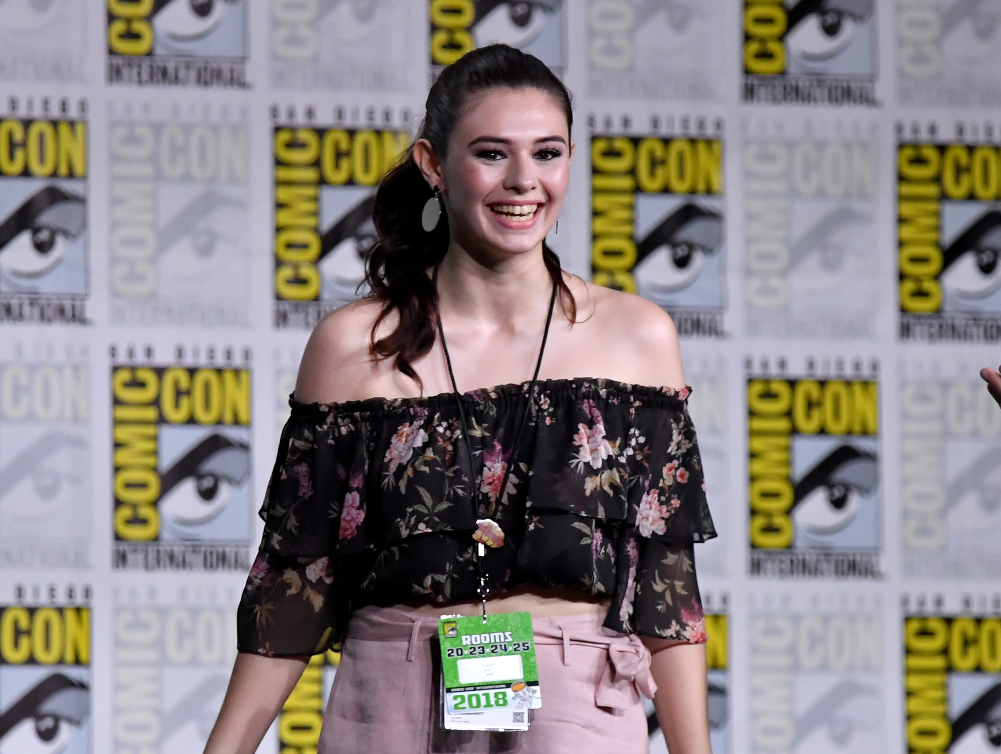 SAN DIEGO, CA - JULY 21:  Nicole Maines walks onstage at the