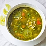 Peruvian Cilantro Turkey Soup