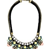 SugarFix by BaubleBar x Target Mixed Media Bib Necklace ($25)