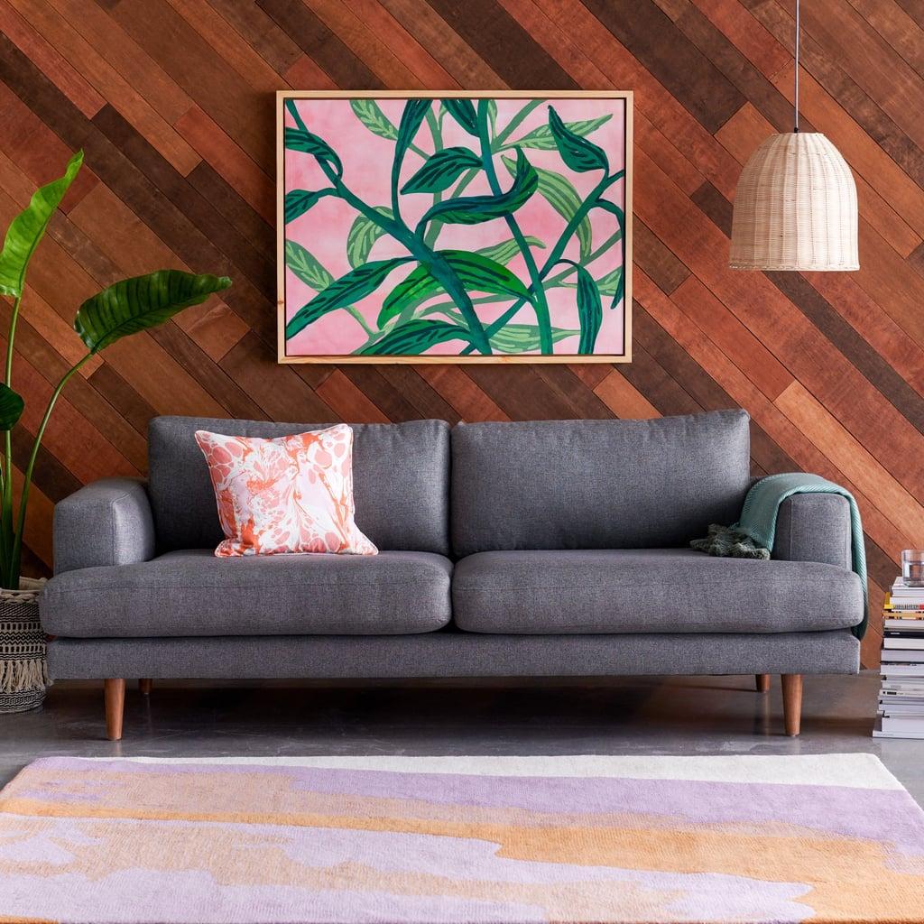 Drew Barrymore Flower Home Herringbone Track Arm Sofa