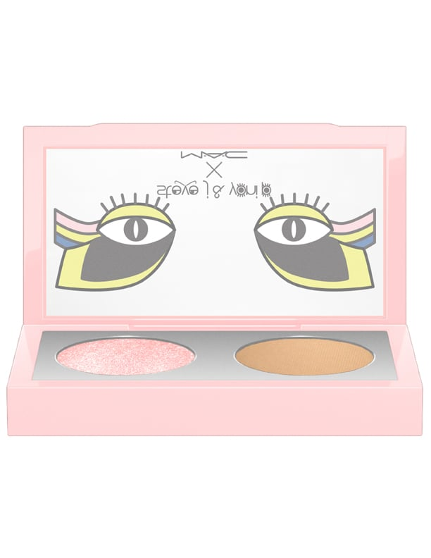 Stevie J & Yoni P x MAC  Eye Shadow X2/Touch Me Baby in Soba and Keep on Twinkling