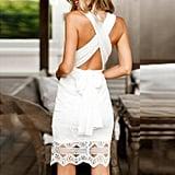 Sunward Lace Dress