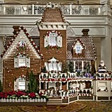 See Larger Than Life Gingerbread Displays.