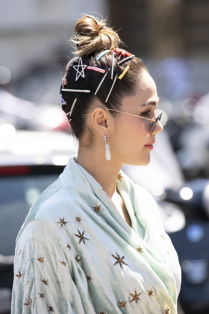 2021 Hair Accessory Trend: Stacked Clips and Bobby Pins