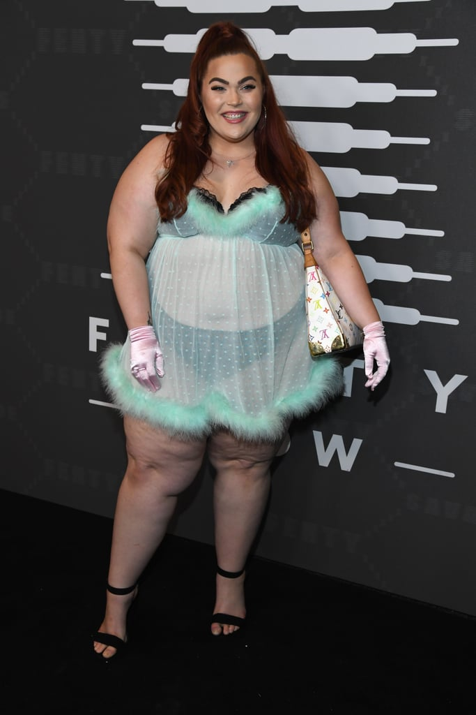 Loey Lane at the Savage x Fenty New York Fashion Week Show