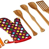 Leftys 6-Piece Left Handed Baker's Kitchen Set