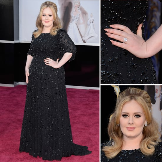 Last night, Adele rocked the Oscars. Not only did she take home the award for Best Original Song for the James Bond pic, Skyfall, but she looked amazing in both her Burberry and Jenny Packham dresses. Find out all of the details of her style, including a step by step breakdown on how to re-create her amazing voluminous hair at home.