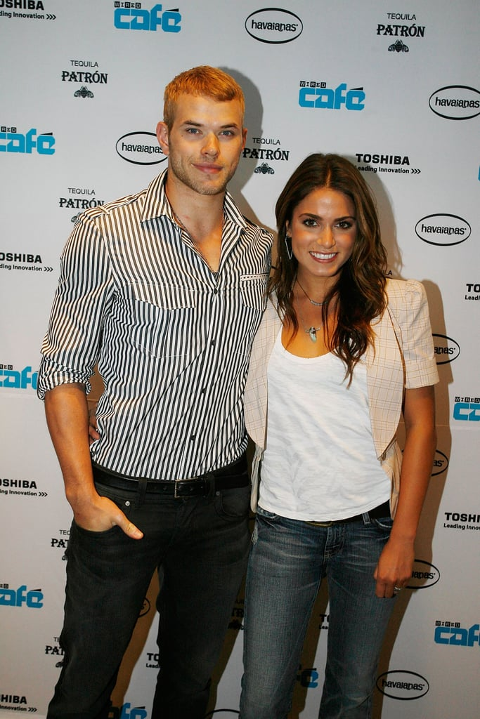 Kellan Lutz and Nikki Reed posed together on the red carpet in 2009.