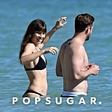 Justin Timberlake and Jessica Biel in the Caribbean 2016