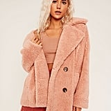 Button Up Teddy Coat ($99.95)