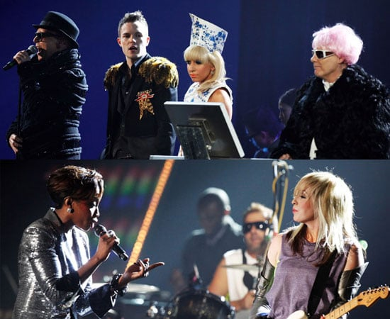 Watch 2009 Brit Awards Collaborations Between Pet Shop Boys, Lady GaGa and Brandon Flowers Plus Estelle With The Ting Tings