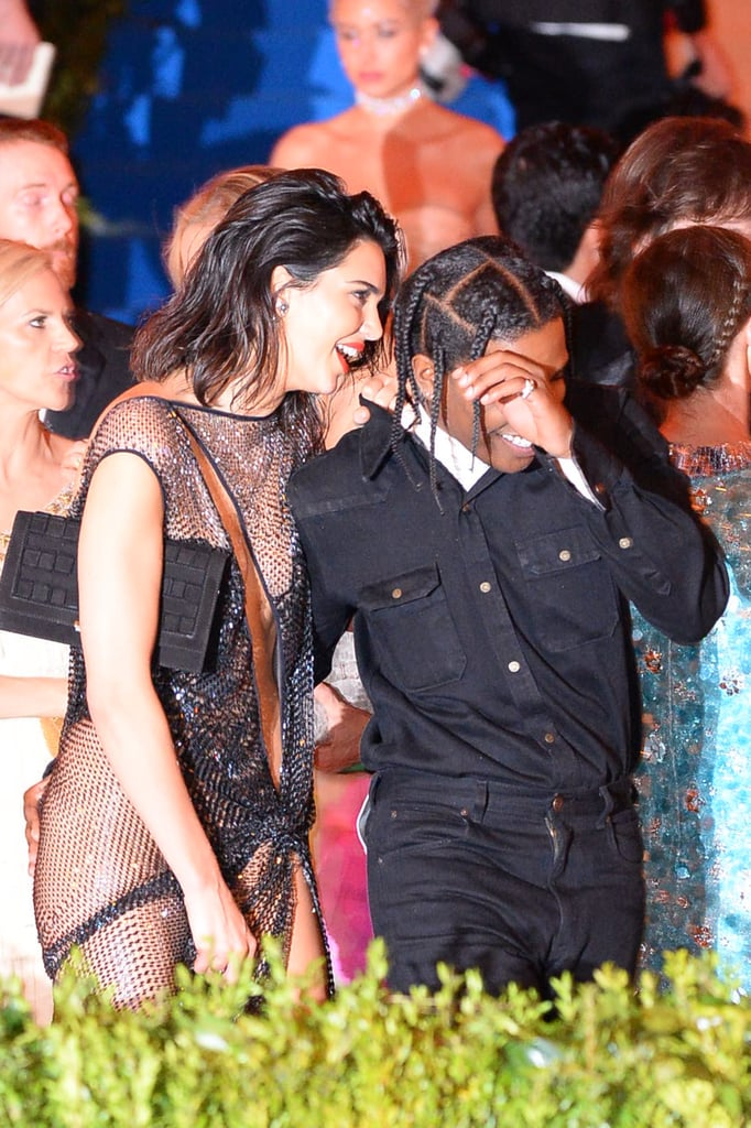 Pictured: Kendall Jenner and ASAP Rocky
