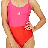 Summersalt The Swan Dive One-Piece Swimsuit