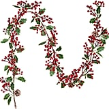 Red Berry Christmas Garland