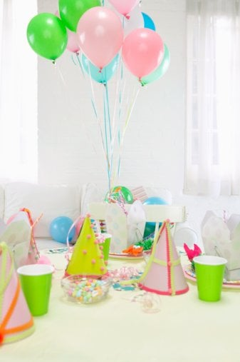 Come Party With Me: Little Girl's Birthday — The Look