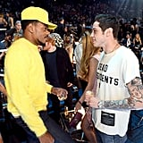 Chance the Rapper and Pete Davidson