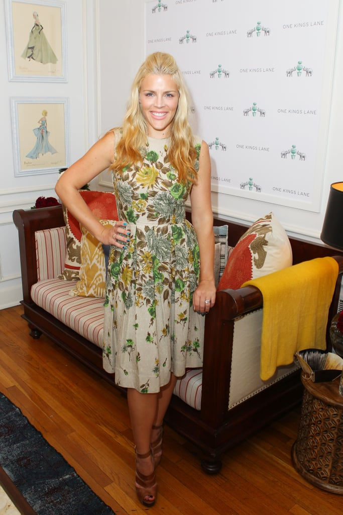 "Busy Philipps and Courteney Cox share a love for interior design, and now, they're selling part of their personal collections for a good cause. The actresses cocurated a sale on One Kings Lane, which starts at 6 p.m. tonight, with pieces donated from their own houses. Proceeds will go to The Art of Elysium. Yesterday, we caught up with Busy as she unveiled several of the items going up for sale, including the couch we conducted the interview on! Busy explained, ""This was my husband's from his bachelor days and his adorable house by the Grove that he sold when we got married. And it just never fit in our new house together. I have really nice memories of sitting on the sofa, eating Pinkberry, watching American Idol, falling in love with him.""  Busy also touched on her show's move to cable and the Cougar Town cast's funny music video to promote the upcoming season premiere. She said, ""I think we were just looking for a fun way to announce our air date, say we were back. People thought we were canceled — so did we. We weren't, and now on Jan. 8 you can watch new episodes on TBS, and we're really excited."" Stay tuned for more of our interview with Busy today on PopSugar Rush."