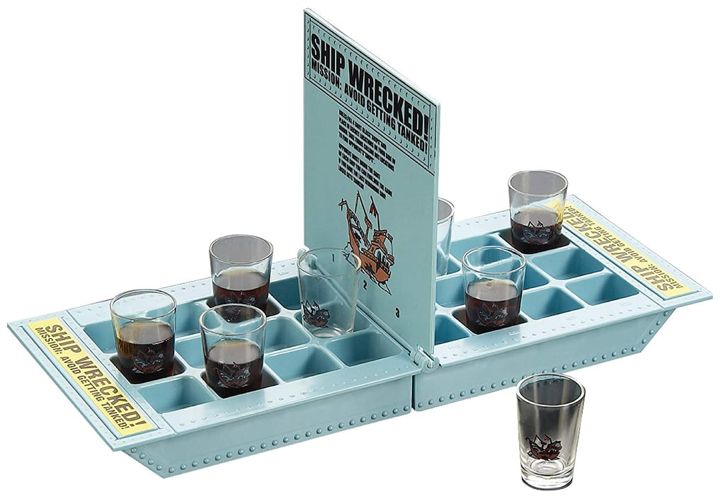 Fairly Odd Novelties Take Your Shots Into Battle Shipwreck Drinking Game
