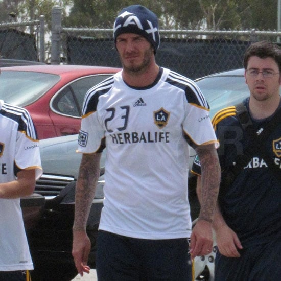 David Beckham Practicing With the LA Galaxy 2011-05-13 14:53:22