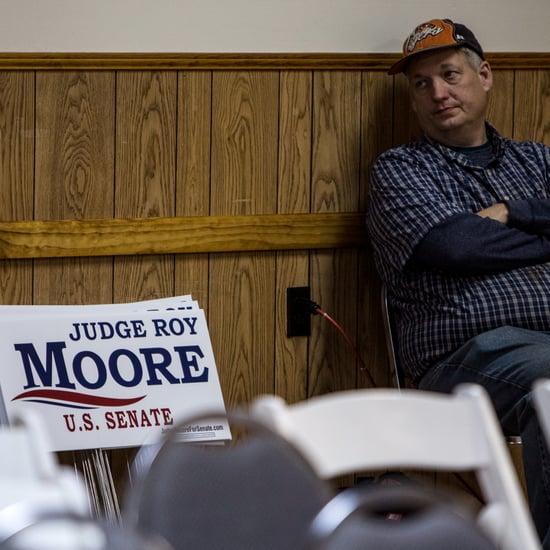Donald Trump Endorses Roy Moore For Alabama Senate Dec. 2017