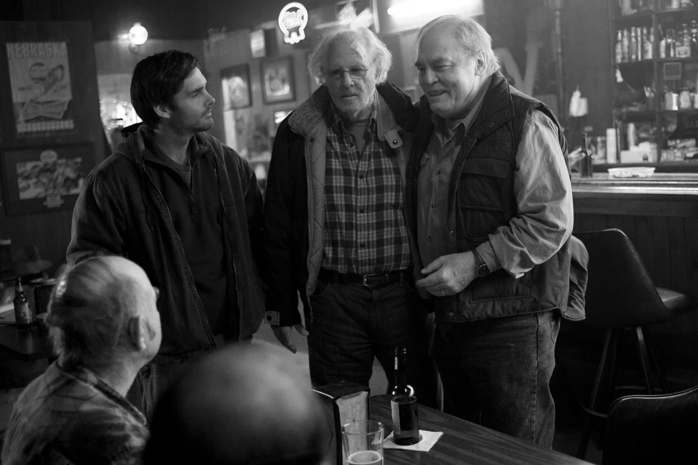 Nebraska  What it's about: Bruce Dern and Will Forte play father and son on a trip from Montana to Nebraska to claim a lottery prize. Why we're interested: Saturday Night Live's Forte is mostly known for comedy, so I'm very curious to see how he does in a more dramatic role. Alexander Payne (The Descendants) is directing, and hey, when's the last time you saw a film in black and white? When it opens: Nov. 22 Watch the trailer for Nebraska.
