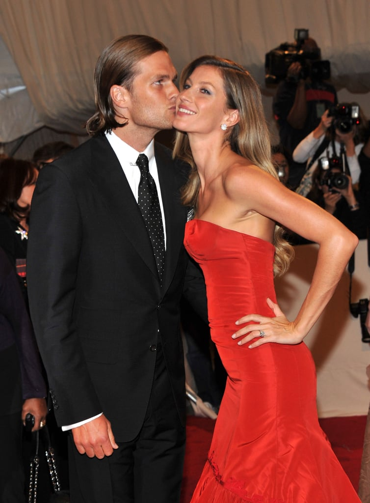Gisele Bundchen and Tom Brady 2011 Met Gala Pictures