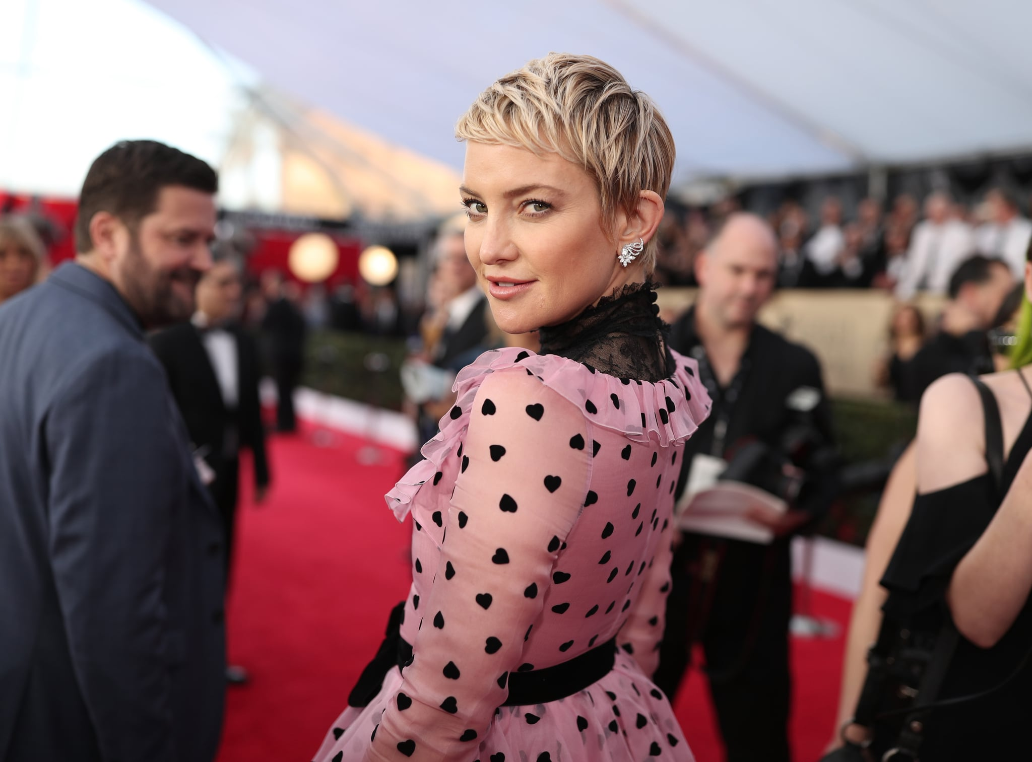 LOS ANGELES, CA - JANUARY 21:  Actor Kate Hudson attends the 24th Annual Screen Actors Guild Awards at The Shrine Auditorium on January 21, 2018 in Los Angeles, California. 27522_010  (Photo by Christopher Polk/Getty Images for Turner)