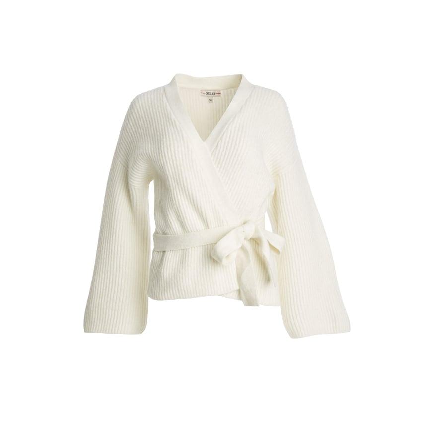 Guess Luiza Kimono Sleeve Wrap Cardigan