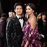 Gemma Chan and Harry Shum Jr. at the 2019 Critics' Choice Awards