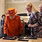 Queen Elizabeth II's First Instagram Post at Science Museum