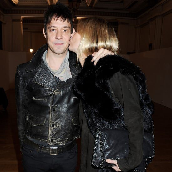 Kate Moss and Jamie Hince Kissing Pictures at James Small Show at London Fashion Week
