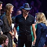 Tim McGraw and Daughter at CMT Awards 2016