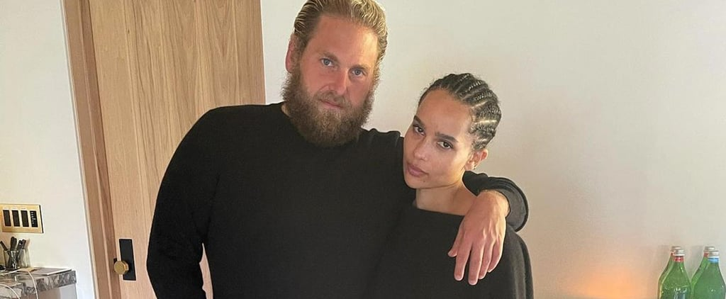 Zoë Kravitz and Jonah Hill Wear The Row For Instagram Photo