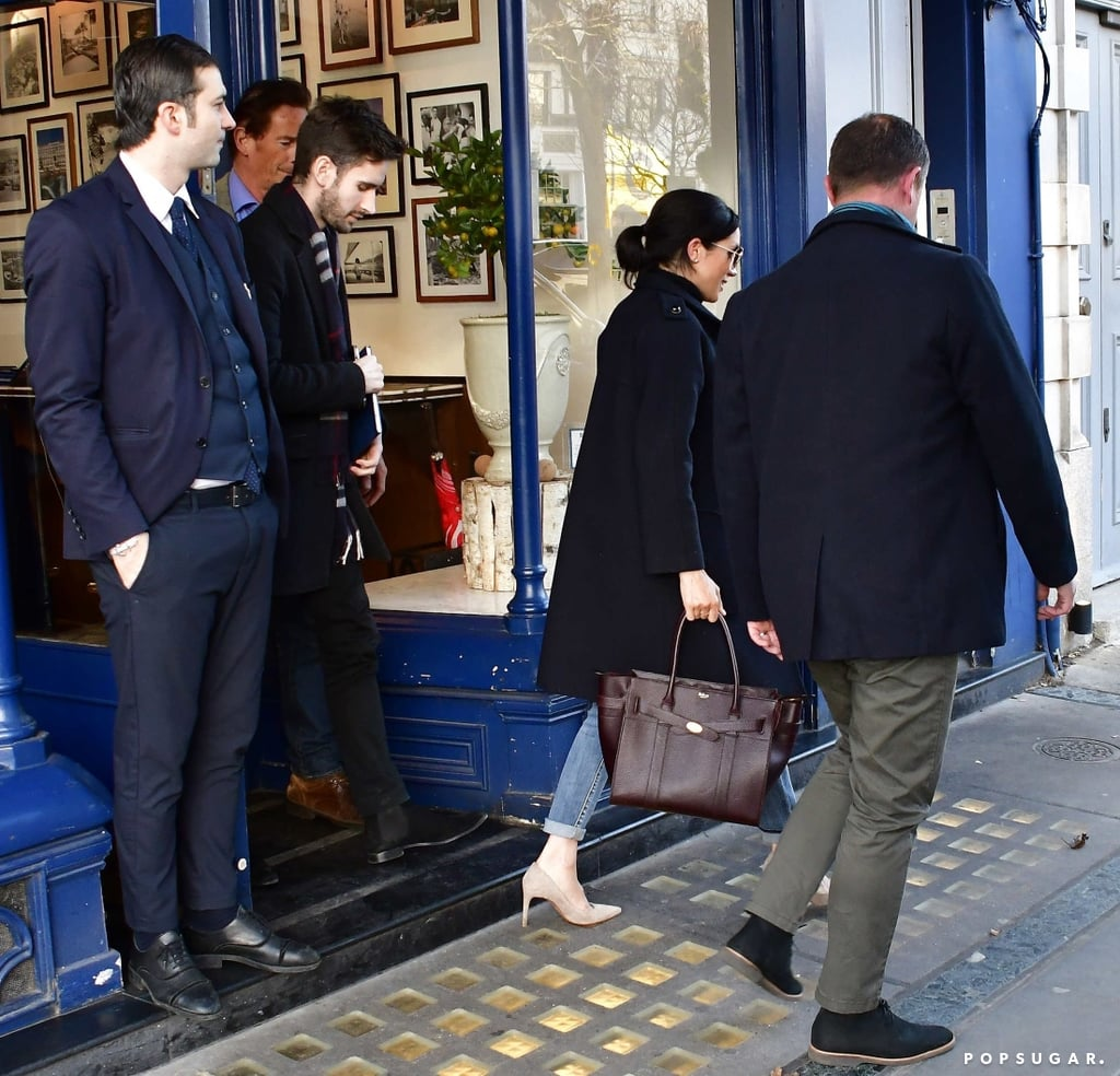 Following Meghan Markle's ultraglam date night with Prince Harry on Wednesday, the Duchess of Sussex stepped out for a casual lunch date in London's Notting Hill neighborhood with another very handsome man a day later. As it turns out, the man in question is none other than the former Brexit speechwriter for David Davis and Meghan and Harry's new deputy communications secretary, Christian Jones. During their lunch, Christian was reportedly seen taking notes while talking to Meghan.  The Cardiff University graduate was hired by Kensington Palace this past December and also manages communications for Prince William and Kate Middleton. Christian now joins Meghan's assistant private secretary, Amy Pickerill, and replaces Harry and Meghan's former press secretary, Samantha Cohen. Christian is in charge of liaising with UK and international media and supporting the royals' charity work and engagements.  Christian previously worked at the HM Treasury for nearly five years and was also the head of news and press secretary at the Department For Exiting the European Union. Given his impressive background, it's easy to see why he was hired for the job. Not to mention, he's also easy on the eyes.       Related:                                                                                                           14 of Meghan Markle's First Royal Milestones