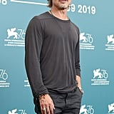 Brad Pitt at the Ad Astra Photocall