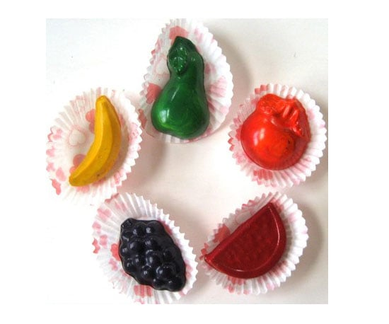 Fruit-Shaped Crayons