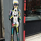 And both Karl and Choupette have caught the eye of street artists.